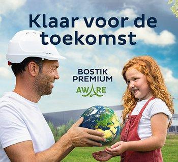 Premium Aware lijmen en kitten van Bostik zonder oplosmiddel