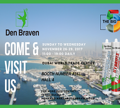 Den Braven is present at the Big 5 International Building and Construction Show