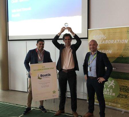 Bostik Benelux B.V. is officieel in het bezit van een Lean & Green star!