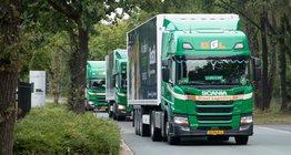 Lean & Green vrachtwagens