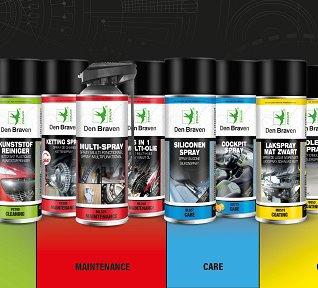 Technische Sprays groepsfoto