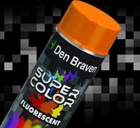 Ekspresowe prace w ogrodzie z farbami w sprayu Super Color firmy Den Braven