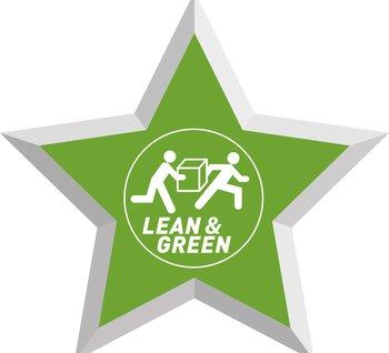Officiële uitreiking Lean & Green Star